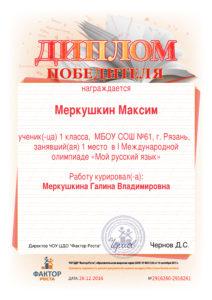 Мой русский язык